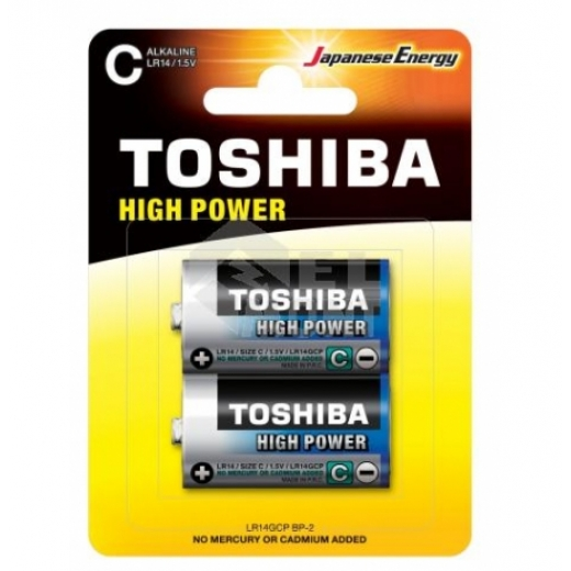 Батарейка 1.5V Toshiba HIGH Power LR20GCP (BP-2CN / D)