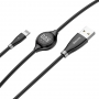 USB Kabel 2.0A Lightning Baseus Big Eye Digital Display CALEYE-01 (1.2m)