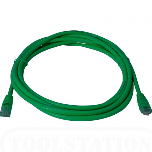 Şəbəkə kabeli CAT5e Green color (2m)