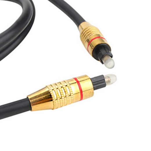 Optical Fiber sound cable GOLD (5 metre)