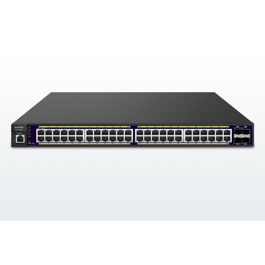 EnGenius EGS-7252 FP 48-Port Gigabit PoE+ L2 Managed Switch with 4 Dual-Speed SFP
