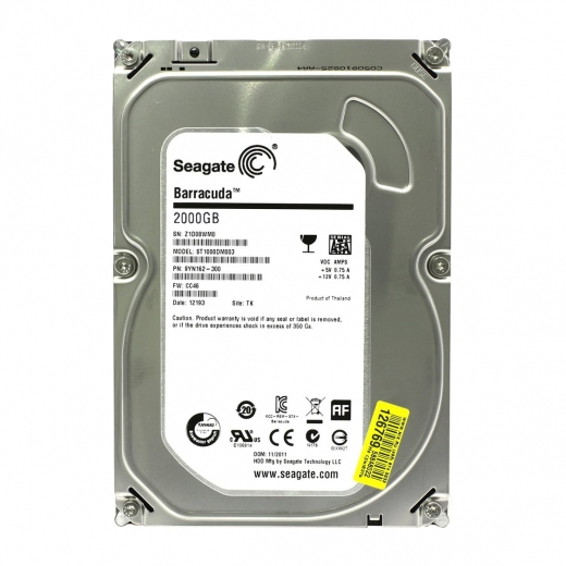 "Seagate 2TB HDD 2.5"" SATA Internal Hard Drive"