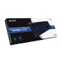 Клавиатура A4 KD-126-1 Black X-Slim LED blue BlackLight Keyboard USB