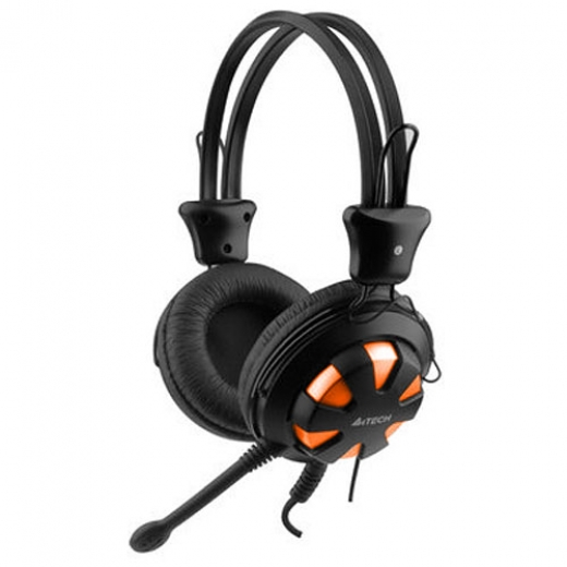 Stereo Qulaqlıq A4Tech HS-28 Orange