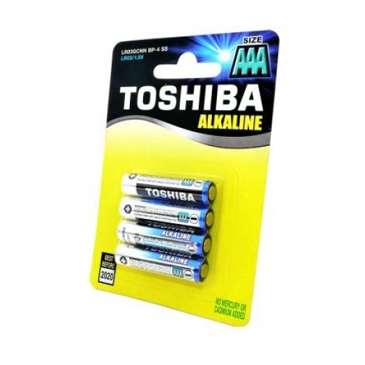 Batareya AAA 1.5V Toshiba HIGH Power LR03GCP (BP-4CN)