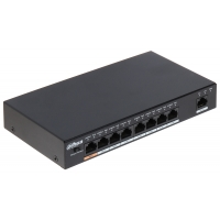 8-портовый POE коммутатор Dahua DH-PFS3009-8ET-96