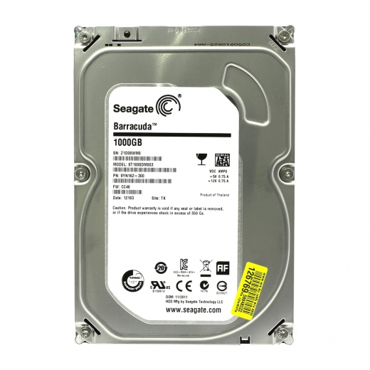 "Seagate 1TB HDD 2.5"" SATA Internal Hard Drive"